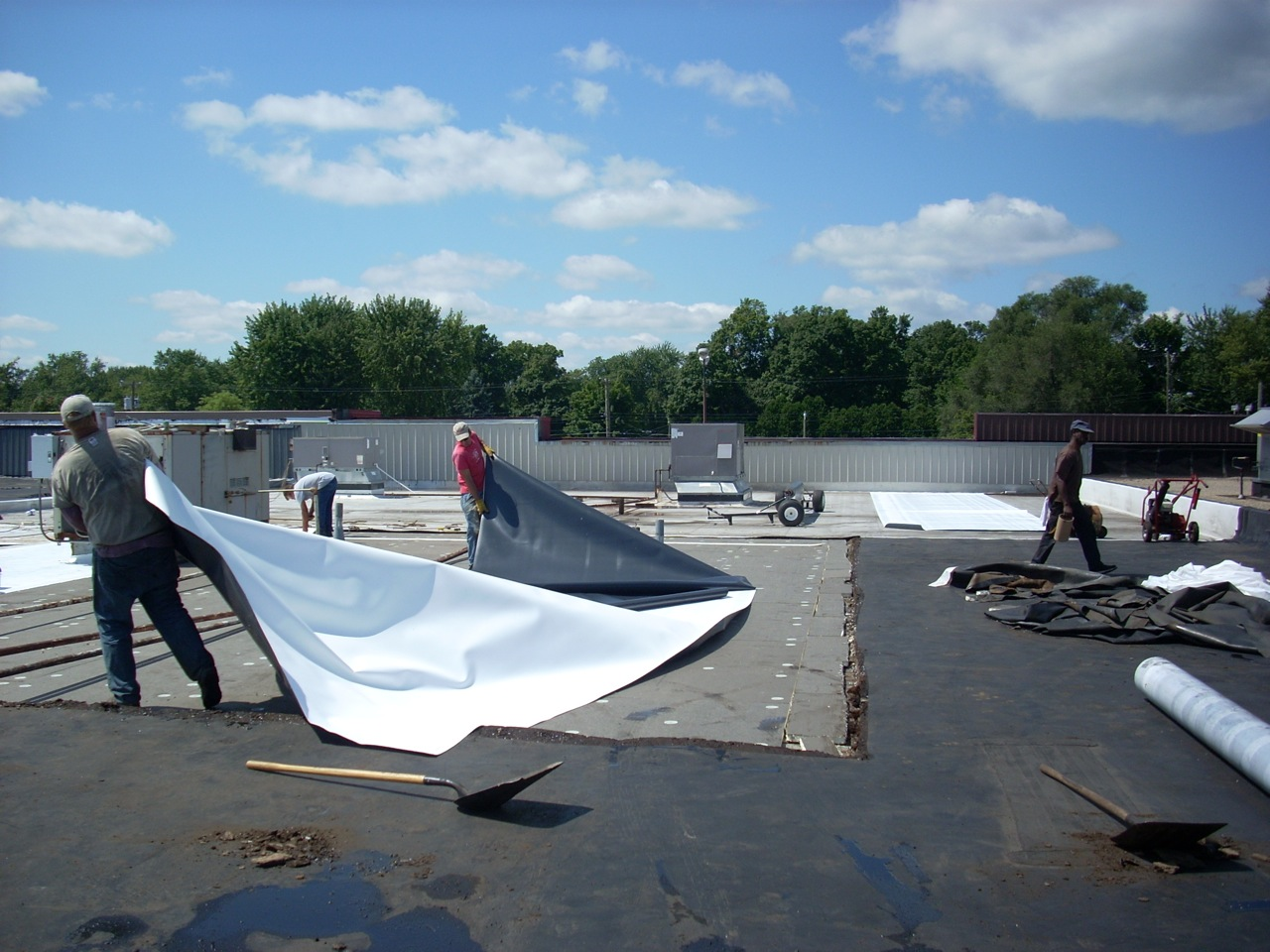 Commercial Roof Repair : Empire gen construction usa inc new york m